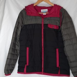Columbia quilted puffer light jacket